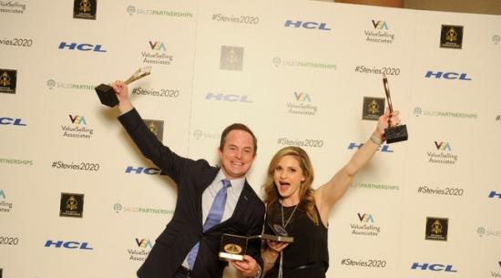 企业车队管理部门获得四项Stevie杰出销售和客户服务奖