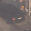 美国洛杉矶一司机为获取汽油故意引警察追捕