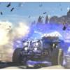 这是关于工作人员玩汽车游戏MarioKart主场巡回赛的相关内容