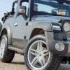 MahindraThar敞篷车改装有20英寸合金高性能轮胎